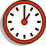 Welche Uhrzeit zeigt das Bild?