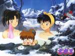 Wem rettete Sesshomaru zum ersten mal mit Tensaiga das Leben?