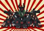 Was ist das auffälligste Zeichen von Akatsuki?