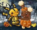 Der 31.12.2013? Das Halloween wollen sich unsere Freunde doch nicht entgehen lassen! Kommt mit in die Welt der Pokemon und feiert ein wunderschönes H