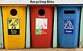 Aus welchem Land stammen die auf dem Bild abgebildeten Mülltonnen?