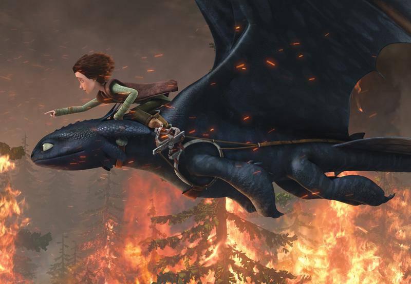 Astrid nackt dragons und raffnuss Draken: Race