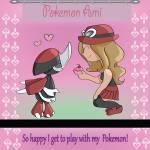 Was passiert, wenn dein Pokémon bei PokéMon Ami 5 Herzen hat?