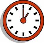 Welche Uhrzeit zeigt ihr Wecker an, als Lucy zu müde ist, um zu schreiben?