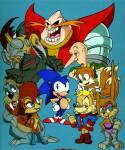Mit welchem Cliffhanger wurde die TV-Serie Sonic SatAm für immer beendet?