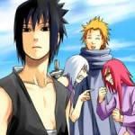 Durch Blut ist das schwache Band zwischen zwei Mädchen gerissen - ein Bruch für die Ewigkeit.Sasuke und das Team Taka betreten ein Lokal, das an ein