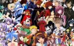 Welcher dieser Animes hat die meisten Folgen?