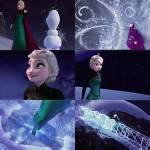 """Elsa: (Am Ende von """"Ich lass los"""") Und ein Sturm zieht auf!"""