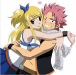Lucy kommt am Ende mit Natsu zusammen.