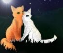 Angenommen, du hast dich in eine Katze oder einen Kater aus einem anderen Clan verliebt. Würdest du deiner Liebe treu bleiben?
