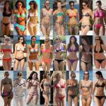 Okay fangen wir an:Was trägst du im Sommer am liebsten für Bikinis?