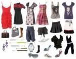 Eine deiner Freundinnen war shoppen. Sie hat sich total viel Sachen gekauft. Was findest du am schönsten?