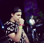 Taddl hat 2 Lieder auf dem Videoday 2014 performt.