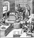 Das Aufeinandertreffen mehrerer Leute in größeren Siedlungen führte im Mittelalter nur zu Chaos.