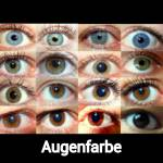 Welche Farbe haben deine Augen?
