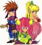Welcher der drei spielbaren Charaktere stammt aus einer Königsfamilie?