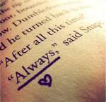 Auf wen bezieht sich das Zitat von Albus Dumbledore und Sev, das wie dieser Testname lautet?