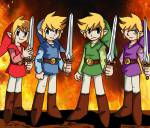 Zelda Love Four Swords- Klappe die 2.!