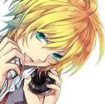 5.)Len Kagamine LenRin's Bruder 14 Jahre altFarbe: Orange (gelb)
