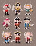 1. Du darfst dir dein Piratenoutfit aussuchen. Wie schaust du aus?