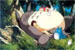 Wer hat zuerst den großen flauschigen Totoro in seinem Baum entdeckt?