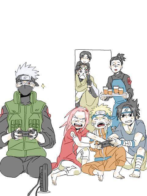 Naruto Liebestest
