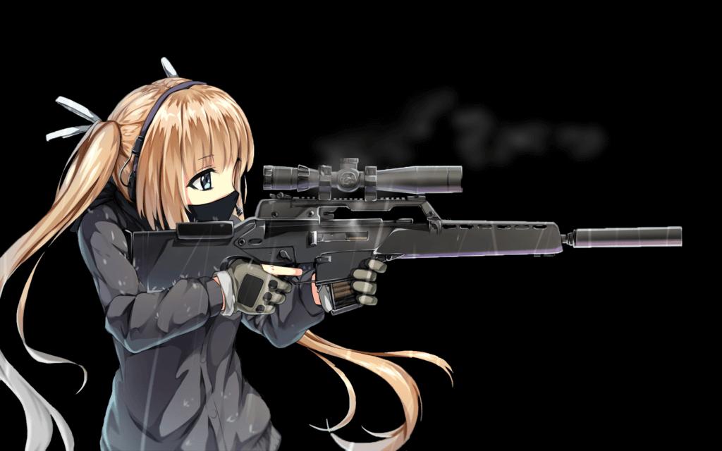 Anime Girls With Guns
