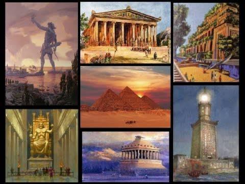 7 Weltwunder Der Antike