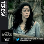 Kaya Scodelario = Teresa