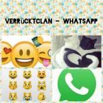 ((green)) ((bold))VerrücktClan- Social Media((ebold)) Es kamen immer mal wieder Ideen auf, z.B. auf Facecat oder SnapCat und ähnliches. Ich finde di