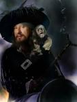 Wer spielte Captain Barbossa?