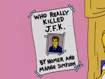 Man glaubt es kaum. Aber Homer ist hat Interesse für die Politik! Nun die Frage: Welchen Politiker mag Homer?