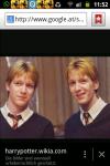 Vierter Platz: Fred und George Weasley