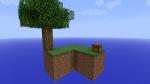 Was ist das? Du erscheinst auf einer kleinen Insel. In einer Kiste sind nützliche Items und neben dir befindet sich ein Baum. Ziel ist es andere Spie