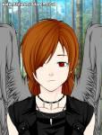 Steckbrief: Name: Chiyoko (Kind von 1000 Generationen) wird auch Angel genannt Alter:18 1/2 größe:1,80 Aussehen: Schulterlange orange Haare der Pone