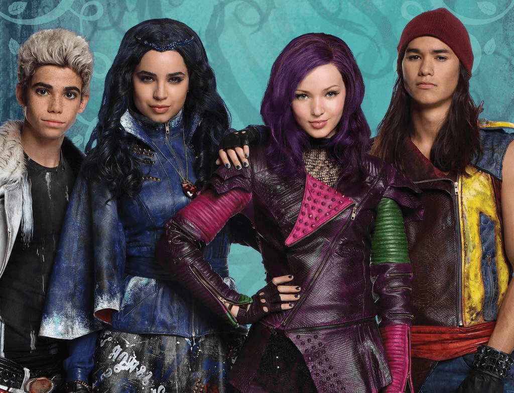 disney's descendants characters - HD 1024×782