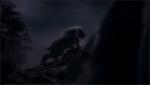 Ein alter Freund Die Gruppe rannte vor einen riesigen Bären weg. Moment? Bär? Ein großer schwarzer Bär. Größer als ein normaler Bär. Sie rannte