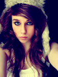 Name: Sisi Vidal alter:16 Charakter: nett, witzig aussehen: braune Haare blaue Augen schlank leicht gebräunt Kleidungsstyle: hübsch, schwarz oder bl