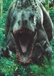 Jetzt zum letzten Teil, Jurassic World. Warum läuft Indominus Rex, nach jedem Mal nachdem sie getötet hat, direkt auf das Besucherzentrum zu?