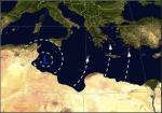 Frage 108: Welcher Wind weht bei dieser Wetterlage in der Adria?