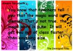 Percy und Schule...ein Thema für sich