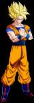 Wo erreichte Son Goku den Super Saiyajin 1?
