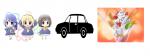 Fange wir mal leicht an! Kinder + Auto + Eis