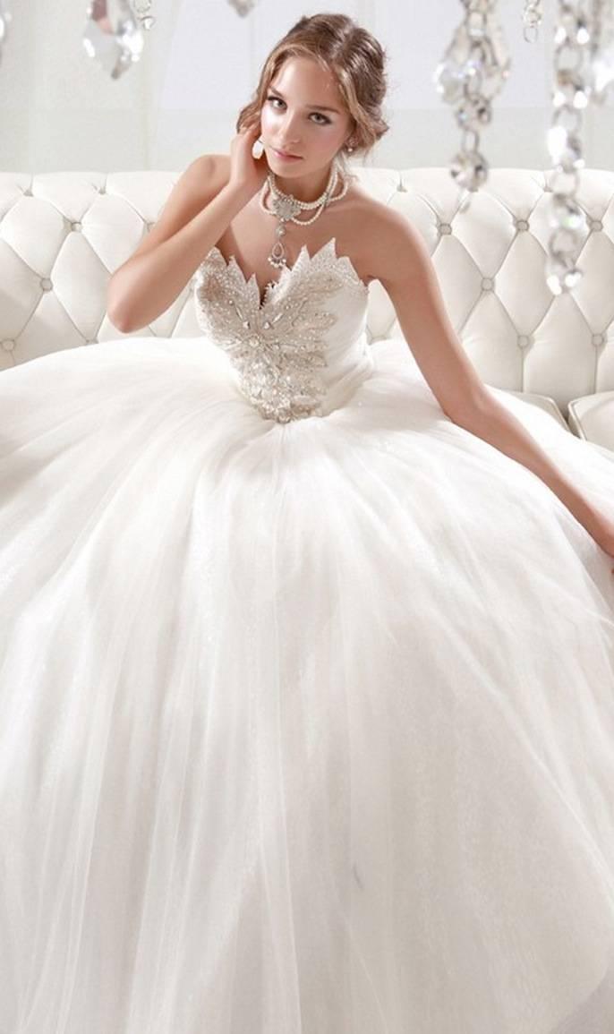 Wie wird dein Hochzeitskleid aussehen?
