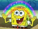 Was sagt Spongebob bei diesem Bild?
