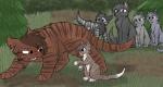 Alle anderen Katzen des Wald der Finsternis waren sich sicher dass sie gegen den SternenClan und die Clans gewinnen würden. Doch Tigerstern war sich