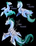 Der Wasser Starter der Region: Naiad Ein Wasser- Pokémon, die in Flüssen leben. Naiaden verbringen selten Zeit außerhalb des Wassers. An Land sind