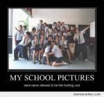 Jetzt vom Schönen zum Unschönen: Der Schule! Wie sieht´s da bei dir aus?