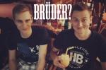 Sind die Buddies, wirklich Brüder?
