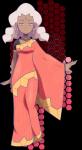 Der Champ: Tamara die Beschützerin der Mega-Entwicklung Pokémon Typ: Verschieden Pokémons: Altaria (Kann die Mega-Entwicklung), Impoleon, Machomei,